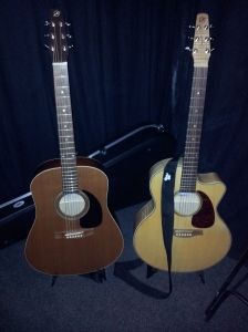 Bertha & Blondie, ready for action!